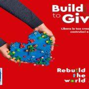 LEGO® Build To Give: insieme a Fondazione ABIO per i bambini in ospedale